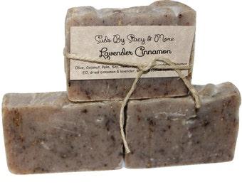Lavender Cinnamon Homemade Soap