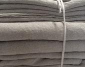 FULL size Linen SHEET SET 4pc Stonewashed pure Belgian linen