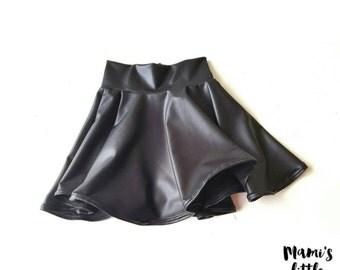 Skirt, Circle skirt, Leather Skirt, Baby & Toddler circle skirt, Girl skirt