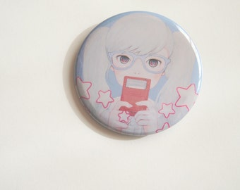 GameGirl Girl Play with star badge