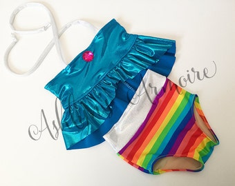 Rainbow Dash inspired swimsuit - Made to Order
