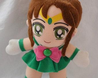 Pretty Soldier Sailormoon IRWIN Sailorjupiter Plush Doll