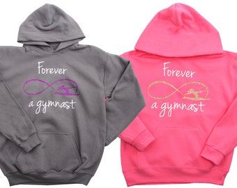 Infinity Gymnastics Sweatshirt by Snowflake Designs