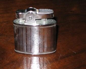 Vintage  Lighter, Collectible Lighter, Silver Lighter, Vintage Tobacciana, Japan Made Lighter
