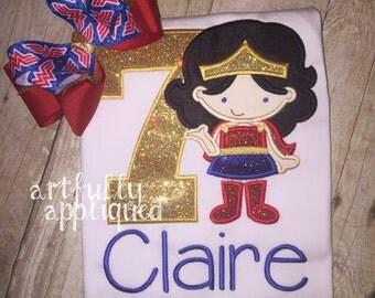 Wonder Girl Birthday Shirt