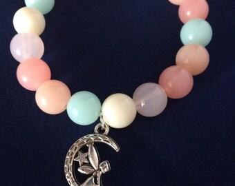 Pretty Fairy Charm Bracelet for little girl.