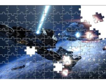 Space Battleships Picture Jigsaw Puzzle
