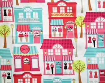 Boutique Theme Cotton Fabric Remnants