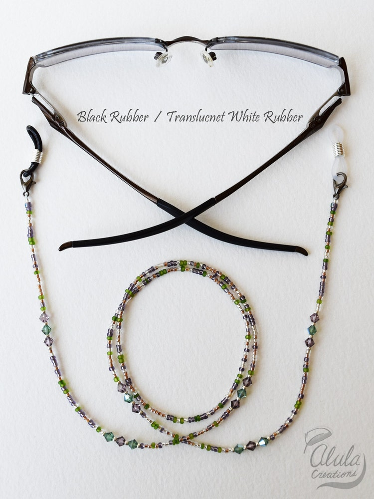 eyeglass holder necklace reading glasses chain by