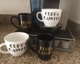 New Yawkuh's Cuppa Cawfee Mugs