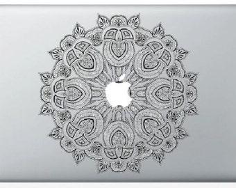 Mandala for MacBook stickers