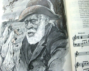 1st Printing Stephen Foster, Vintage Treasury of Music, 51 Songs, A Treasury of Stephen Foster