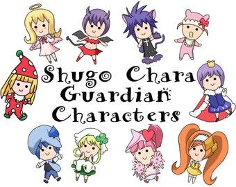 Shugo Chara Chibi Guardian Characters