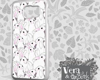 Bunnies Galaxy Case - Galaxy s6 case, Galaxy s5 case, Galaxy s4 case, Samsung S8 plus, Galaxy Note 4 case, Galaxy bunny case, rabbit