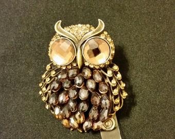 Owl Badge Holder