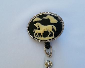 Horse Badge Holder