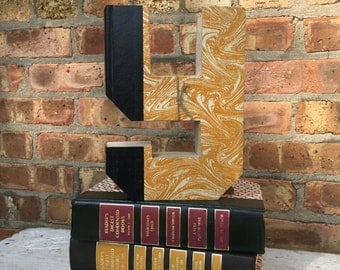 Letter Y...!Custom Made Just For YOU!!!!  Letters created from actual Hardcover Books!!