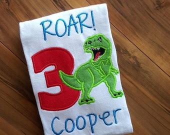 Dinosaur Birthday Shirt - Roar!