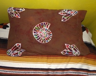 Ammonite pillow case