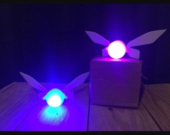 Replica Navi Fairy from The Legend of Zelda, great for Link cosplay!