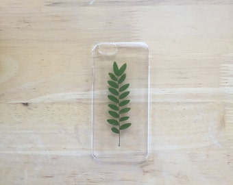 Real Pressed Leaf Clear iPhone 6 Case