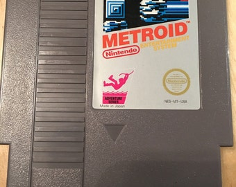 METROID | NES | Nintendo Video Game Cartridge | Classic | Rare and Collectable | Cleaned and Tested