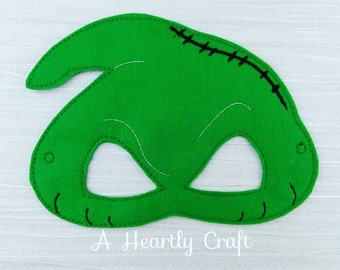 Oogie Mask - Oogie Costume - Pretend Play - Dress Up - Party Favor - Halloween Costume