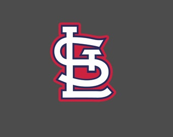 Full Color St. Louis Cardinals - Die Cut Decal/Sticker