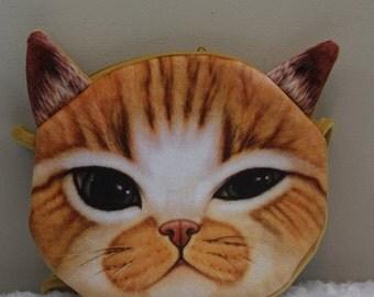 Cross body cat face bag (cc3)