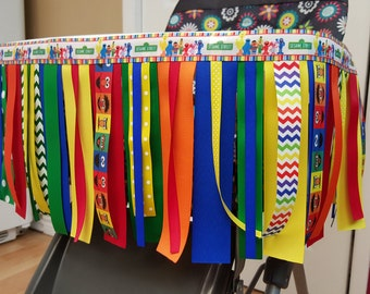Create Your Own High Chair Ribbon Banner! Birthday Party... 1st birthday...