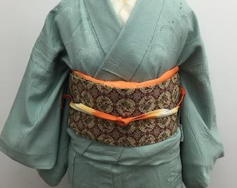 Set for Vintage kimono and obi