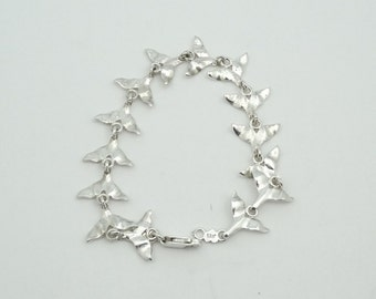 Have A Whale Of A Good Time With This Unique Whale Tail Sterling Silver Bracelet  #WHALE-LB1