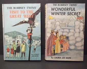 The Bobbsey Twins' Set of Two Vintage Books