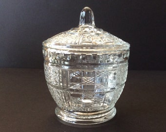 Clear Glass Candy or Trinket Dish