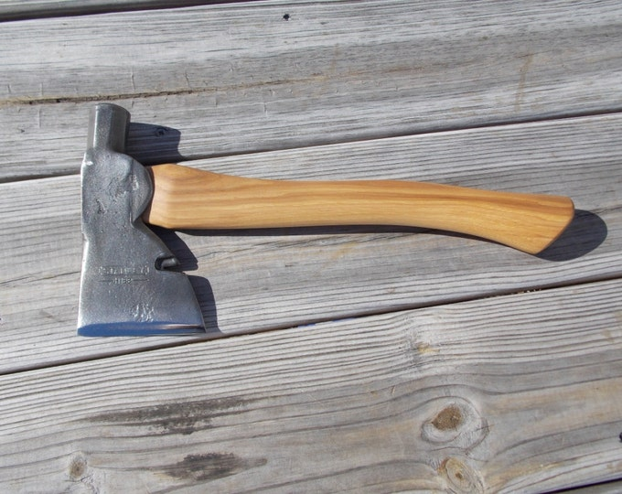 Stanley hatchet with new 14 inch handle of American Hickory total weight 2 lb
