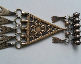 Vintage Yemenite brooch