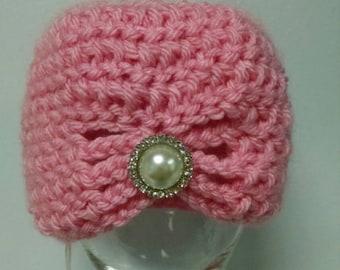 0-3mo Crochet Turban - Ready to Ship