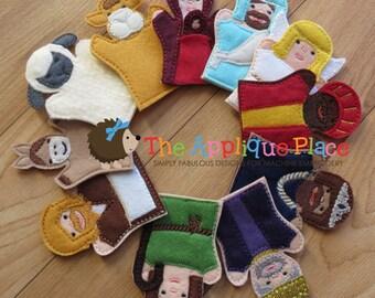 Nativity Finger Puppets Set of 11