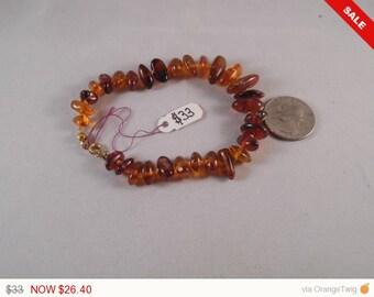 Genuine Amber Bracelet #142