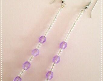 Beautiful bead earrings