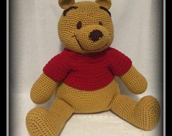 Crocheted Winnie the Pooh!