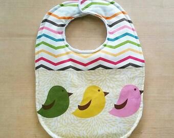 3 Little Birds Baby Bib
