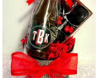 Belgian Chocolate Wine Bucket Gift Set