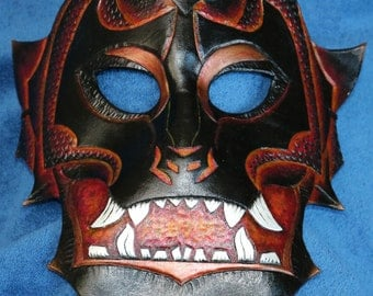 Fiery Demon Mask