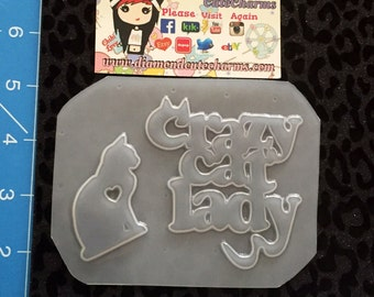 Crazy Cat Lady Mold