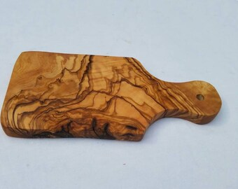 Hand Crafted Tunisian Olive Wood Cheese Cutting Board