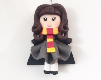 SALE!!! Hermione Granger Polymer Clay Necklace
