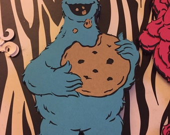 Cookie Monster-with cookie