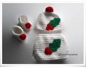 Crochet 3 Piece Baby Pattern, Babies First Diaper Set, Decorative Diaper Pattern, Instant Download