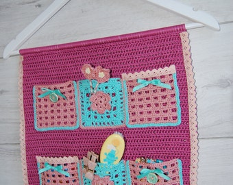 Jewelry organizer crochet